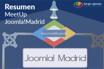 Resumen del primer MeetUp de Joomla!Madrid (abril 2016)