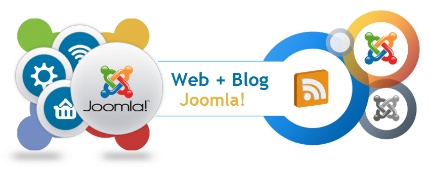 Web Joomla! con Blog